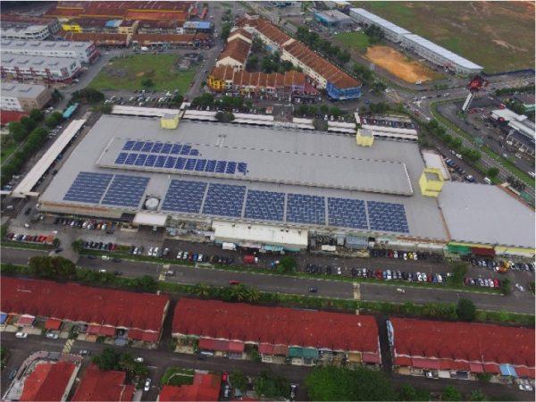 590 kWp (Masai, Johor)